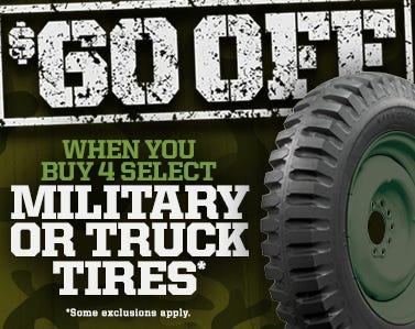 Military Truck Rebate