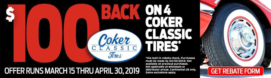 Coker Classic 100 Rebate