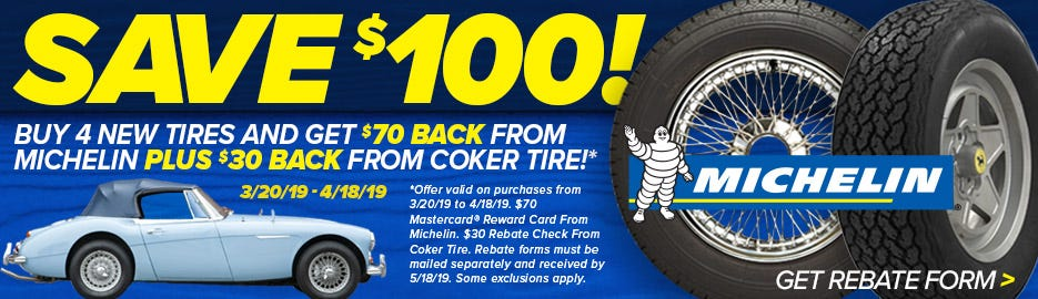 Michelin Double Reb Spring 2019