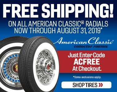 American Classic Free Ship 2019-Web Ad