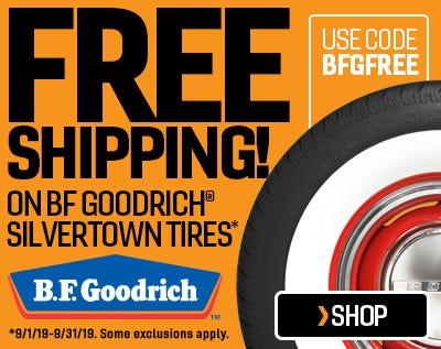 BFG Silvertown Free Ship Web Ad
