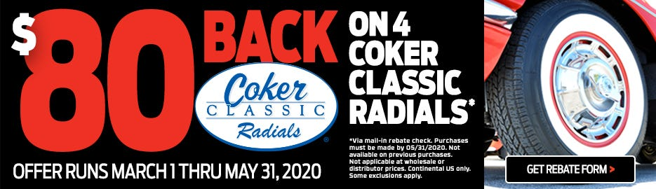 Coker Classic Radial Rebate 2020-Lander
