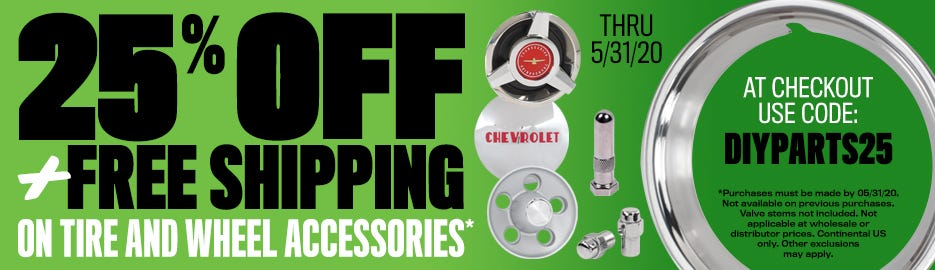 25% Off Accessories Sale