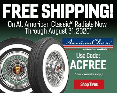 American Classic Free Shipping Summer 2020-Web Ad