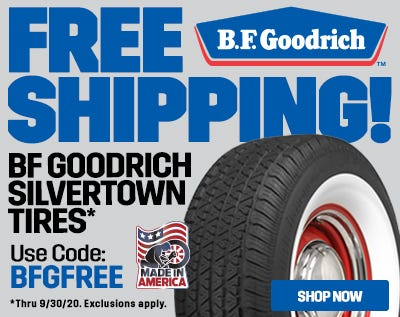 BF Goodrich Silvertown Free Shipping 2020-Web Ad