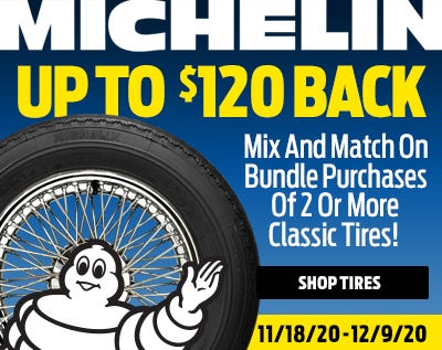 Michelin 120 Holiday Rebate 2020-Web Ad