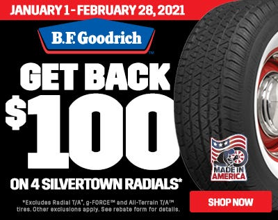 Silvertown 100 Rebate 2021-Web Ad