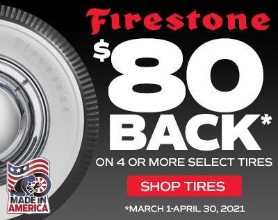 Firestone $80 Off Rebate 2021-Web Ad