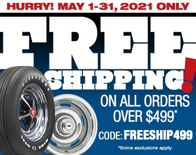 Free Shipping Over $499-Spring 2021-Web Ad