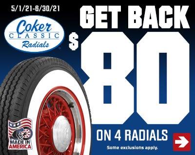 Coker Classic Radial $80 Rebate-Spring 2021-Web Ad