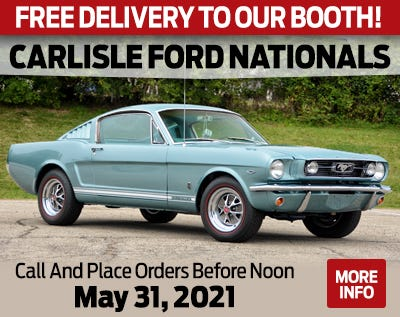 Carlisle Ford Nationals 2021 Web Banner Ad