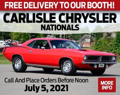Carlisle Chrysler Nationals Web Ad
