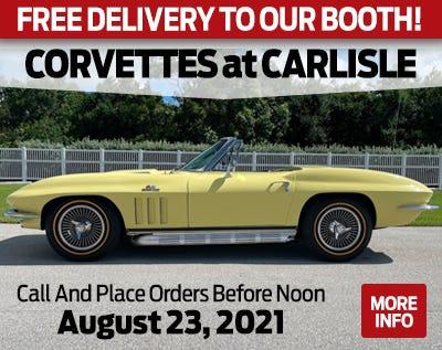 Corvettes At Carlisle Web Ad