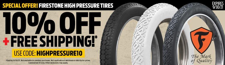 Firestone High Pressure Promo