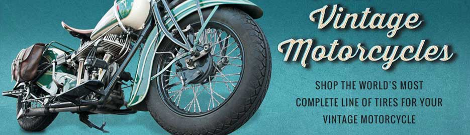 Vintage Motorcycle Tires | Deluxe Champion | Coker Tire®