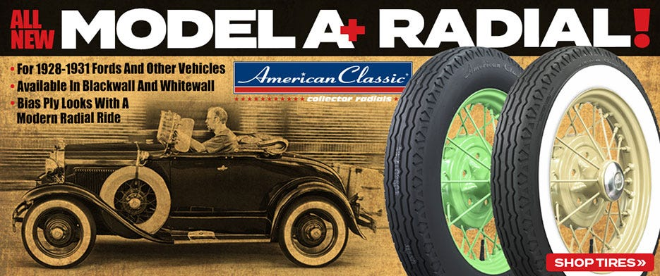 Model A Ford Tires | Generic