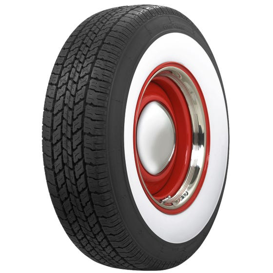 Wide Whitewall Coker Classic Radial Tire
