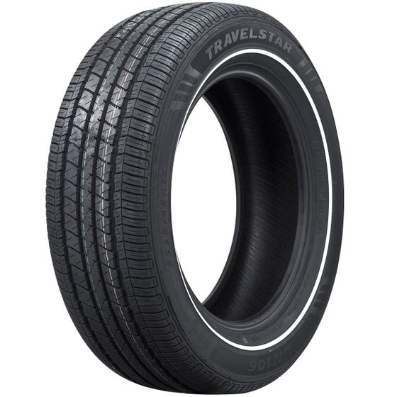 225/60R17 Travelstar Radial Whitewall Tire