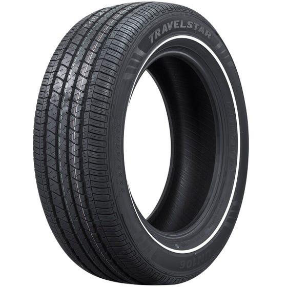 225/60R16 Travelstar Radial Whitewall Tire