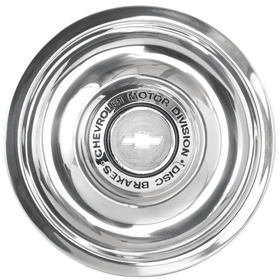 Chevrolet Disc Brake Cap | 7 Inch Back I.D.