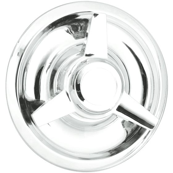 "Knockoff Straight Bar Cap | Chrome | 7.0"" Back I.D."