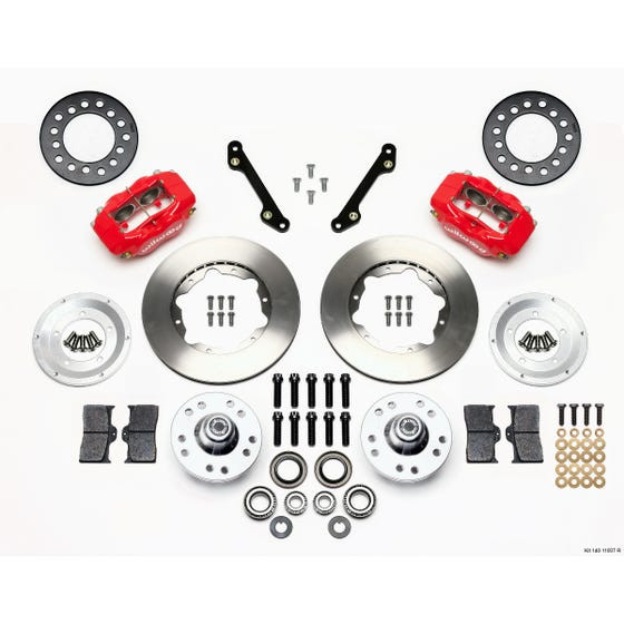 GM Front Disc Brake Kit | 1970-78 Camaro FDLI 11.00 | Red