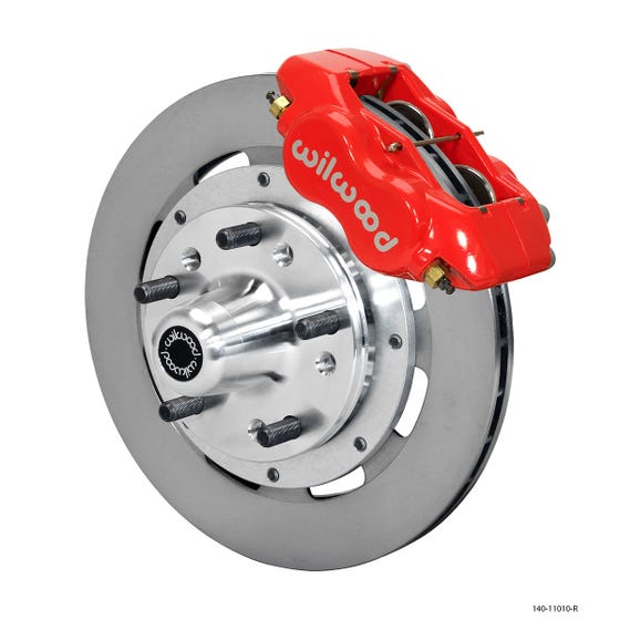 GM Front Disc Brake Kit | 1955-57 Chevy FDLI 11.75 | Red