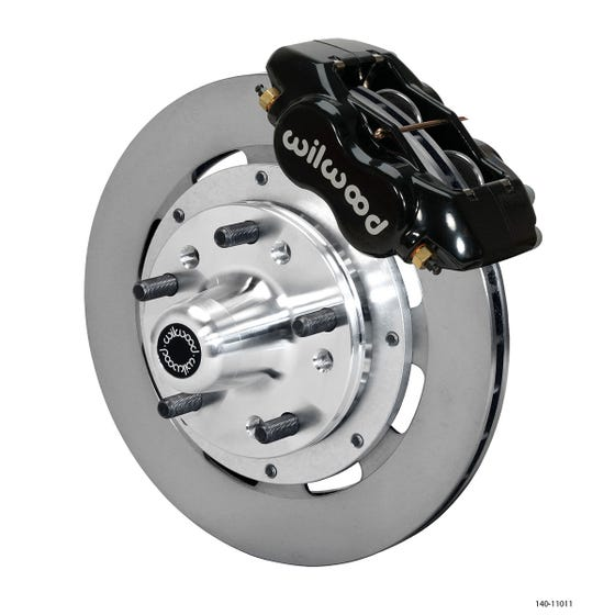 GM Front Disc Brake Kit | 1963-64 Corvette / Impala FDLI 11.75 | Black