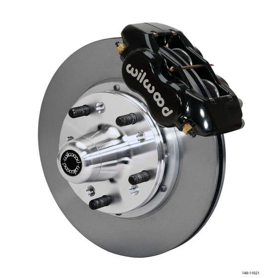 MOPAR Front Disc Brake Kit | 1962-72 B&E body FLDI with disc | Black