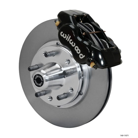 Ford Front Disc Brake Kit | 1965-69 Mustang FDLI 11.00 | Black