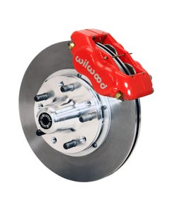 GM Front Disc Brake Kit | 1965-68 Impala with drum FDLI | Red