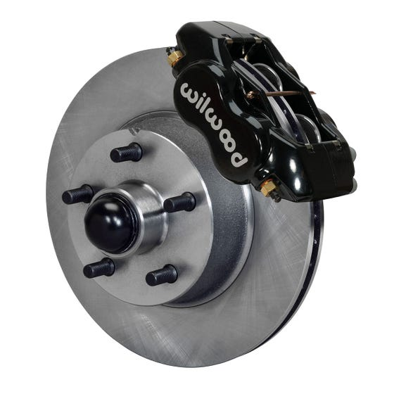 Ford Front Disc Brake Kit | 1954-56 FDLI 11.28x1.00 | Black