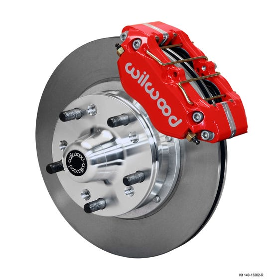 GM Front Disc Brake Kit |  1967-72 Camaro/Nova DP-DB | Red
