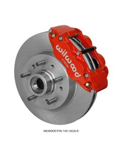 GM Front Disc Brake Kit | 1960-63 Chevy C10 FNSL6R | Red