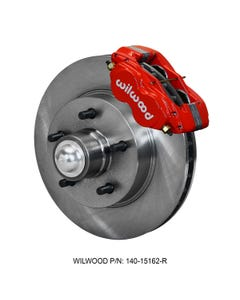 GM Front Disc Brake Kit | 1957-60 Cadillac | FDL-M 11.88 | Red
