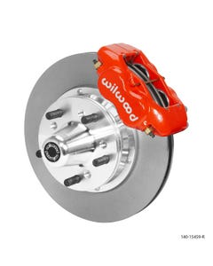 MOPAR Front Disc Brake Kit | 1965-72 Dart/Duster | Red