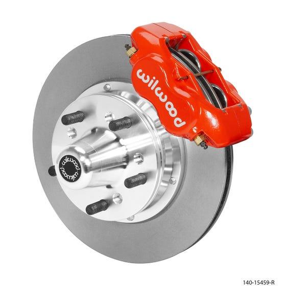MOPAR Front Disc Brake Kit | 1965-72 Dart/Duster | Red