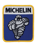 Patch | Vintage Michelin Running Bibendum