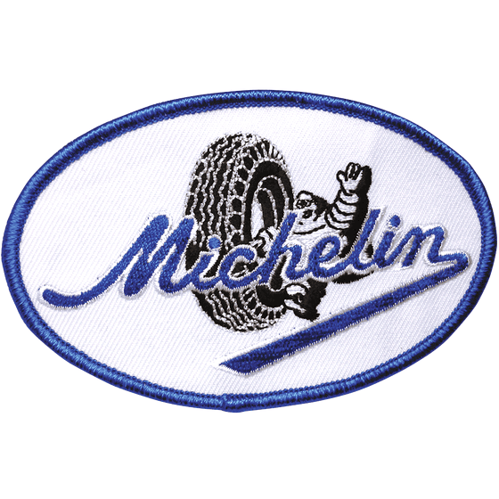 Patch | Vintage Michelin Script Logo Oval
