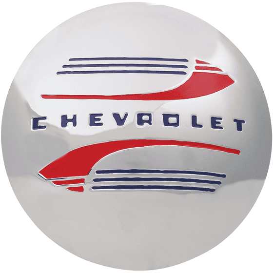 Chevrolet Cap For Hot Rod Steel Wheel | 1941-47