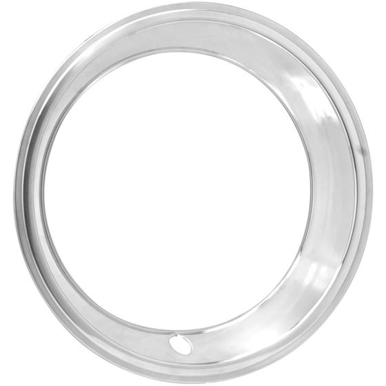 "15"" TRIM RING 2.5"" STEP Stainless Steel"