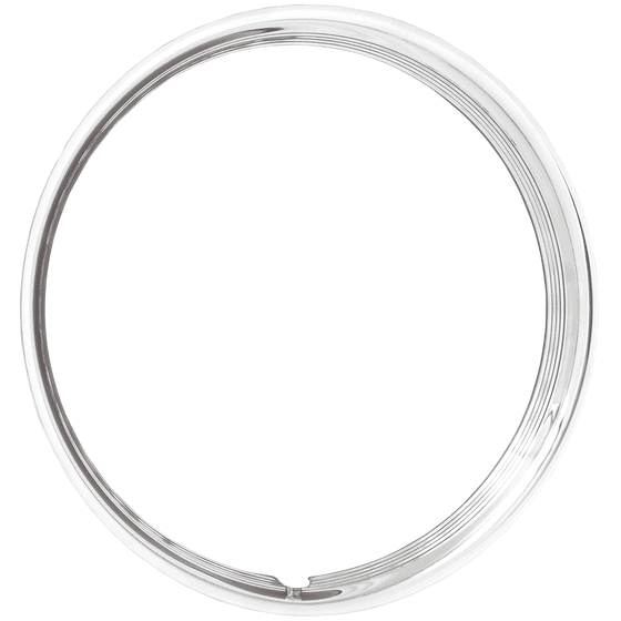 Trim Ring | 15 Inch Hot Rod Ribbed