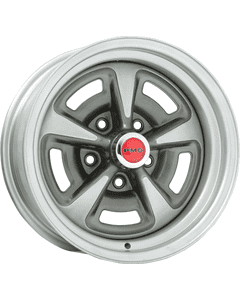 "15x7 Pontiac Rallye II | 5x4 3/4"" bolt | 4.00"" backspace | Painted finish"