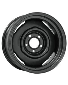 "15x7 Mopar Standard | 5x4"" bolt | 4.00"" backspace | Powder Coat finish"