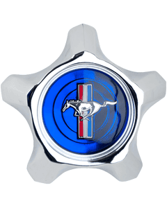 Mustang Pony Cap   Blue   1967
