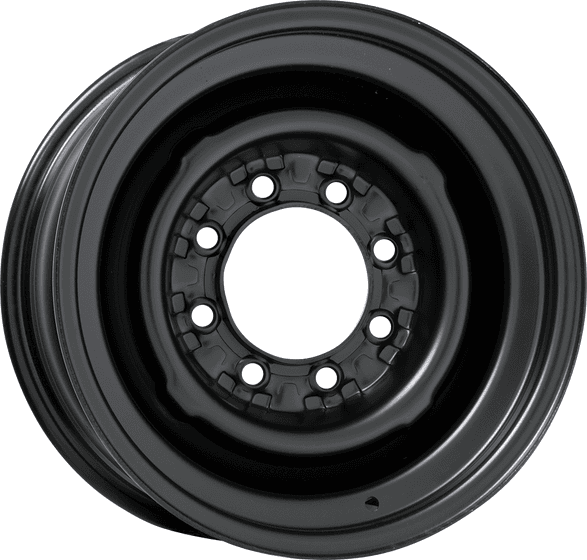 8 Lug Wheel | Black