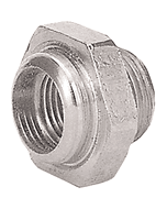 Nickel Reducer Nut | Wire Wheel
