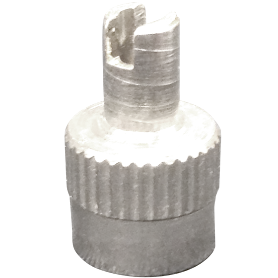 Nickel Prong Valve Cap | Core Remover Tool