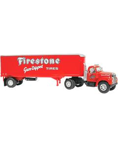 Diecast | Firestone Mack Truck (Coker Tire Version)