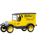Diecast | Miller Truck Bank (Coker Tire Version)